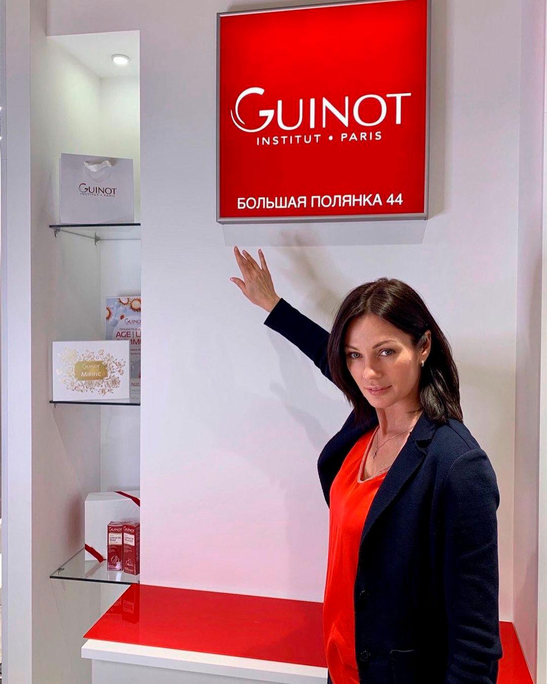 Новый салон Guinot Institute Paris в Москве